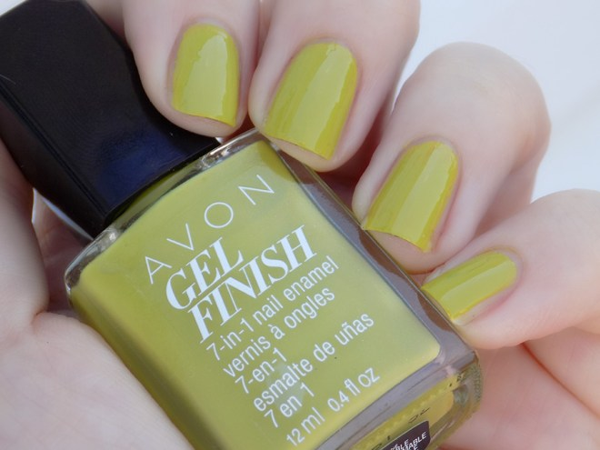 Avon Fall Trends - Gel Finish Citronized Nail Polish - Swatch Shade