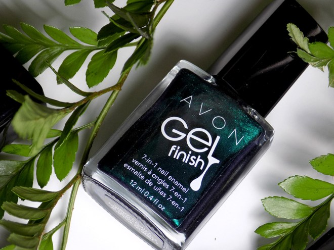 Avon Fall Trends - Gel Finish Envy Nail Polish - Green Nail Polishes