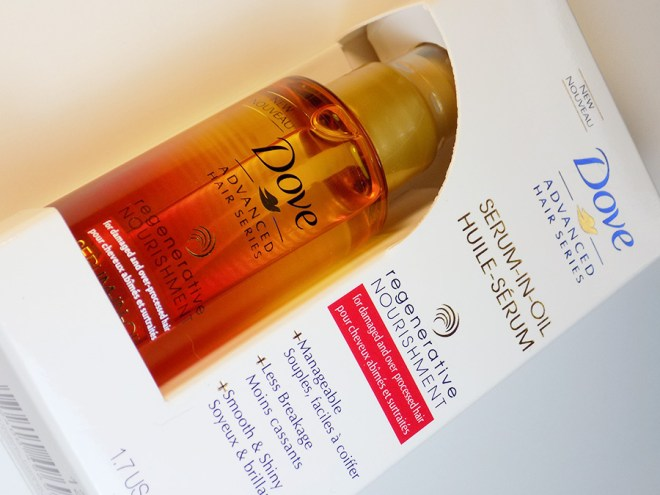 ChickAdvisor Showcase - Dove Serum in Oil Hair