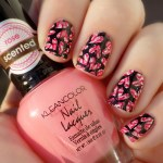 KleanColor Rose Scented Double Stamped Heart Manicure