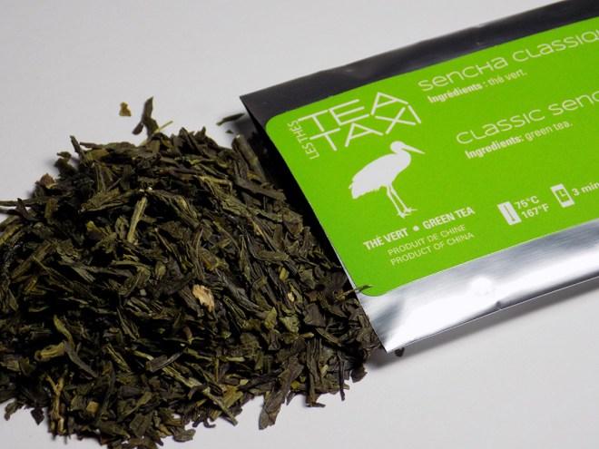 Tea Taxi Classic Sencha Tea Sample Loose