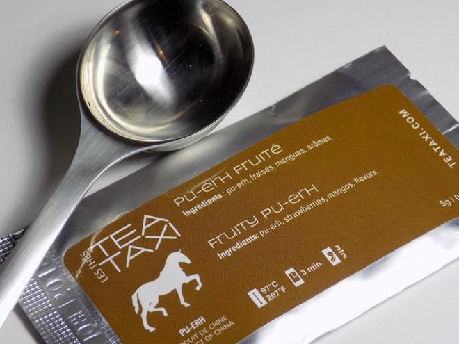Tea Taxi Generation Envelope Fruity Puerh Tea Sample Packaging