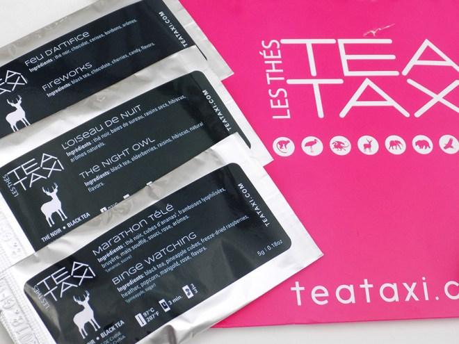Tea Taxi Generation Envelope Night Theme Teas