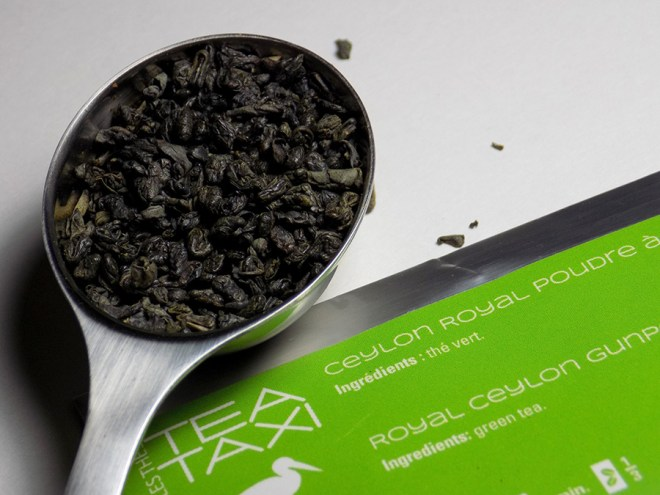Tea Taxi Generation Envelope Royal Ceylon Gunpowder Tea Sample