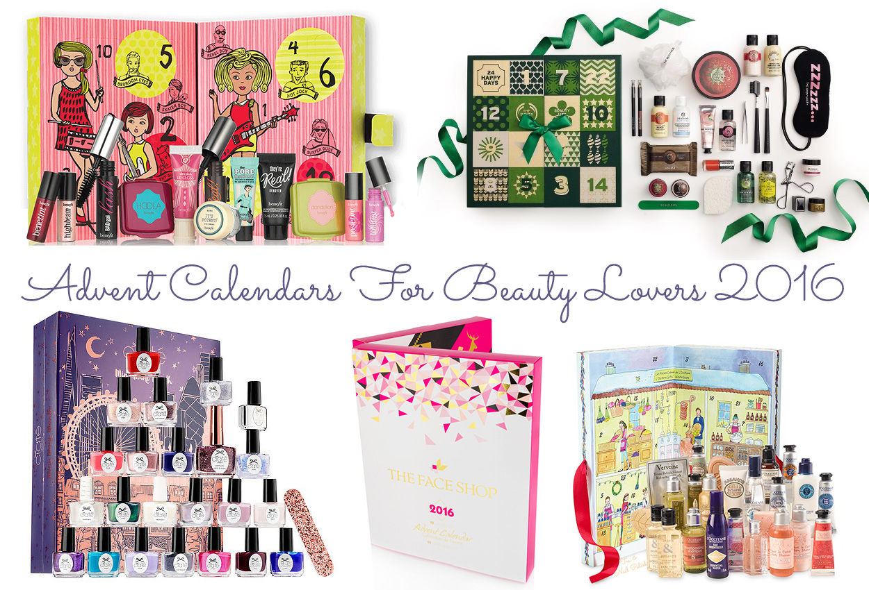 Canadian Beauty Advent Calendar Options - Tea & Nail Polish