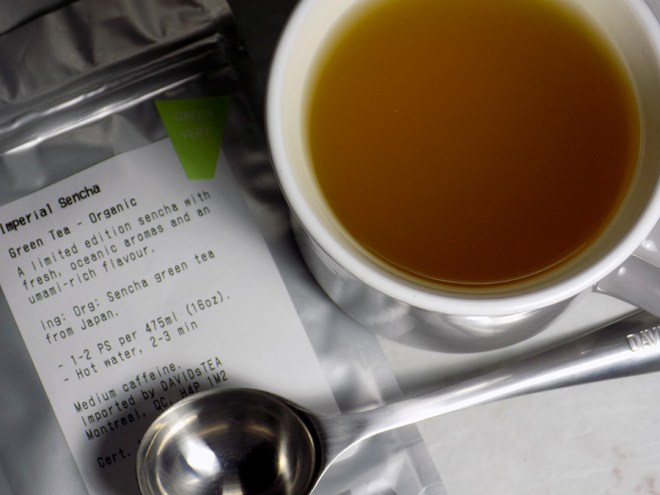 DavidsTea Imperial Sencha Tea Review Davids Tea Traditional / Straight Teas Fall 2016