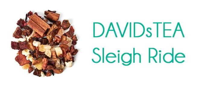 DavidsTea Sleigh Ride 2016 Holiday Tea