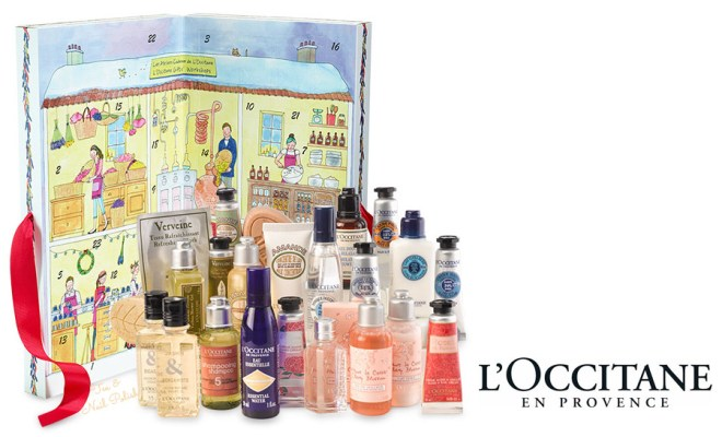 L'Occitane 2016 Advent Calendar Canada