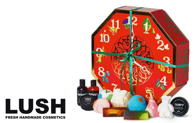LUSH Canada Advent Calendar Beauty 2016