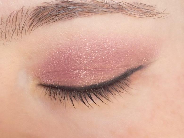 Metallic Eye Trends - Avon Rose Metallic Cream Eyeshadow Swatch