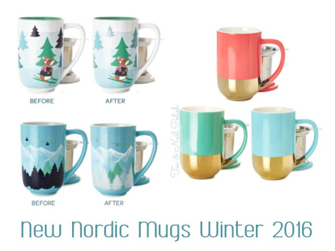 New DavidsTea Winter Collection Nordic Mugs