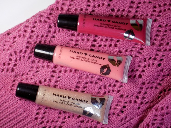 Hard Candy Lips of Love Shimmer Gloss Christmas Set