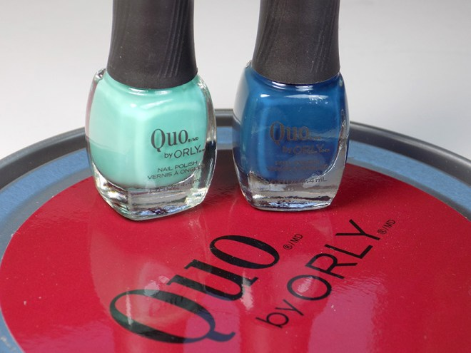 Quo by Orly Perfectly Painted Nail Polish Collection - Blues