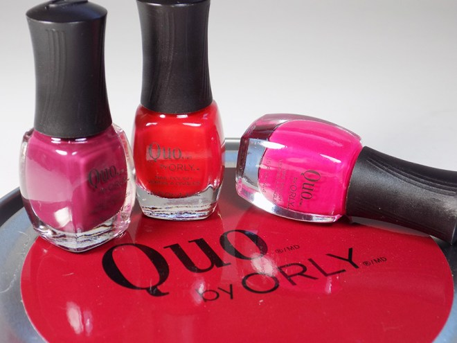 Quo by Orly Perfectly Painted Nail Polish Collection - Reds