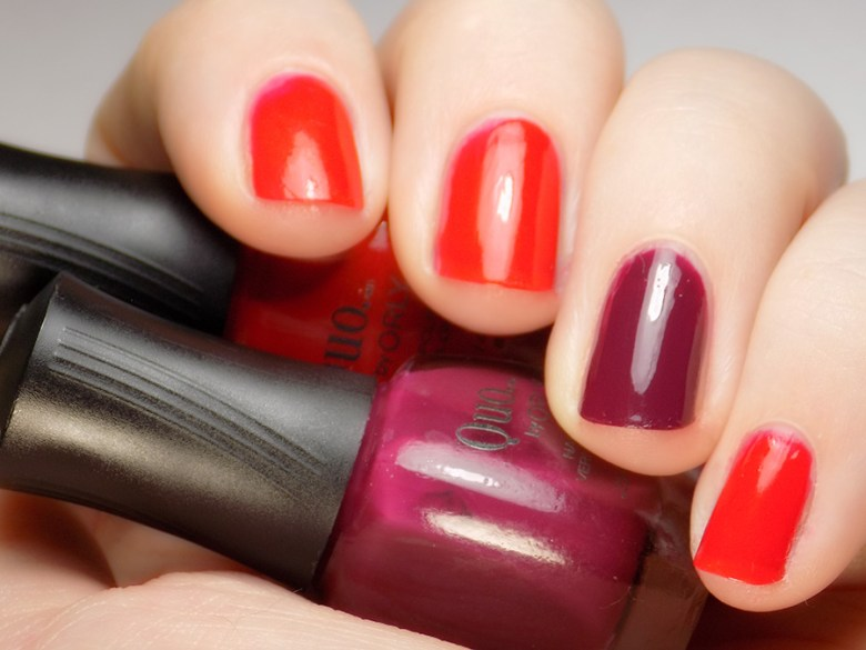 Quo by Orly The Best of the Best Nail Polish Collection Christmas 2016 - Reds Swatch