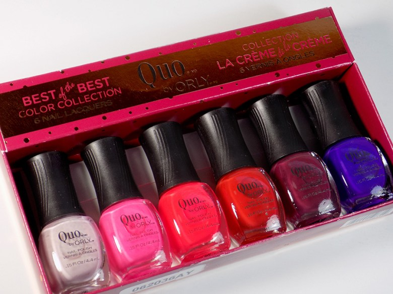 Quo by Orly The Best of the Best Nail Polish Collection Christmas 2016 at Shoppers Drug Mart