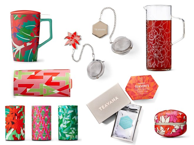 Teavana Holiday Collection Items Canada 2016