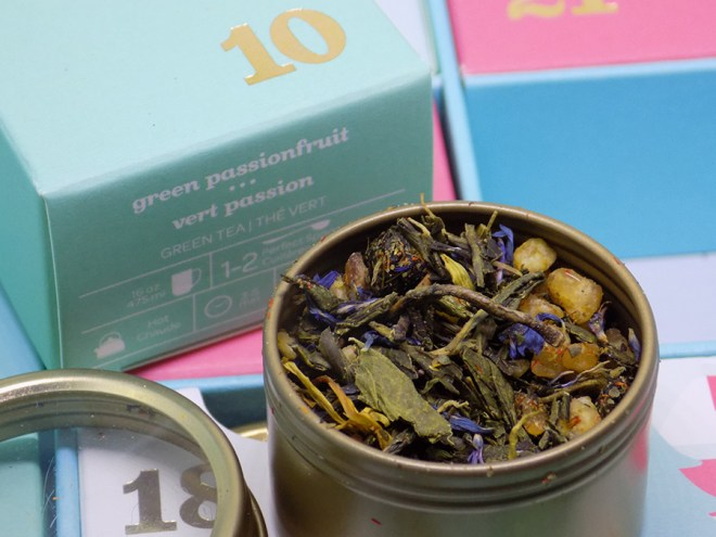 DavidsTea 2016 Advent Calendar Day 10 - Green Passionfruit