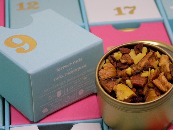 DavidsTea 2016 Advent Calendar Day 9 - Forever Nuts