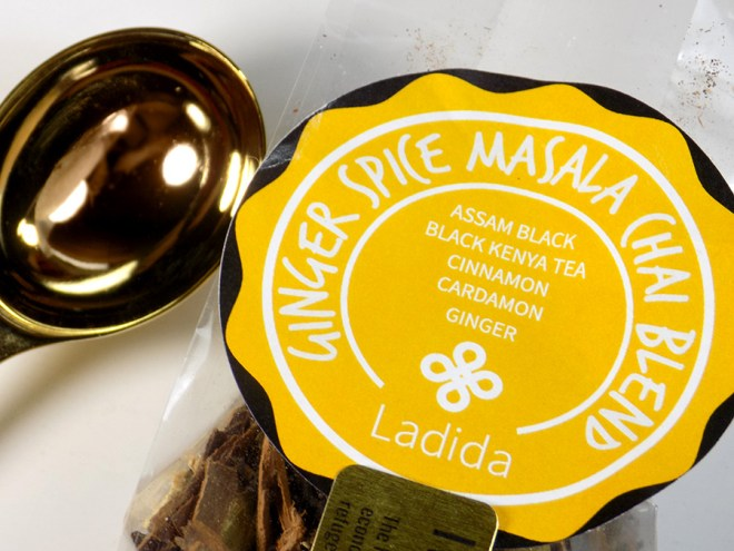 Ladida IWC Hamilton Ginger Spice Masala Chai Tea Review