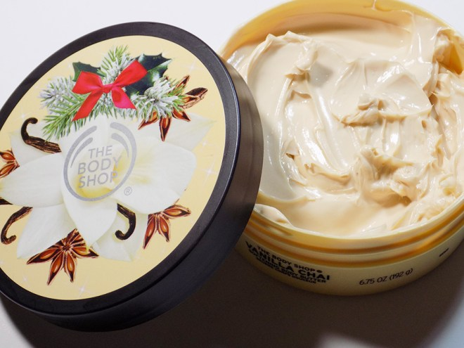 The Body Shop Vanilla Chai Body Butter Holiday 2016 Review