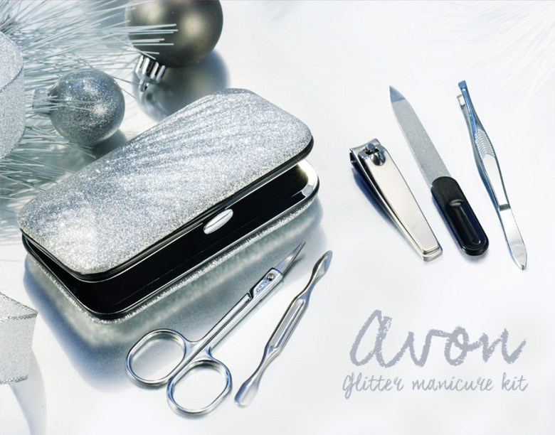 Avon Glitter Manicure Kit