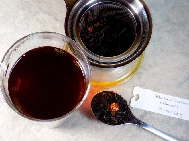 Bulk Barn Black Currant Black Loose Tea Review