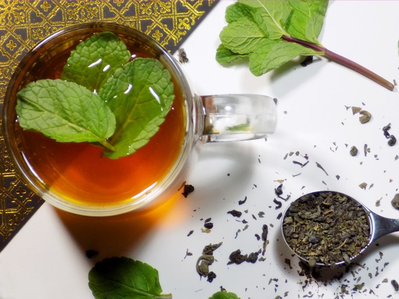 Bulk Barn Moroccan Mint Tea -Brewed with a Spoon of Tea