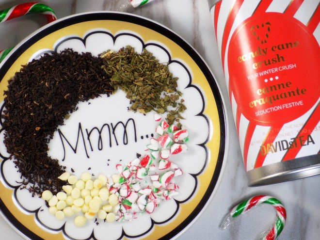 Make Your Own White Chocolate Peppermint Tea - Candy Cane Crush Tea - With Can