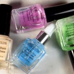 Mariposa Kozmic Colours Nail Therapy Set including Base coat, Top Coat, Quick Dry Drops and Nourishing Oil - Dollarama Buy