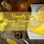 DAVIDsTEA Lemon Pound Cake Tea Review