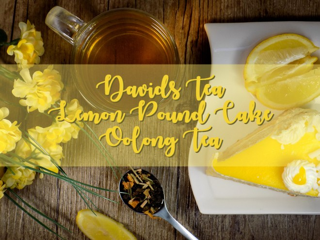 DavidsTea Lemon Pound Cake Review Header