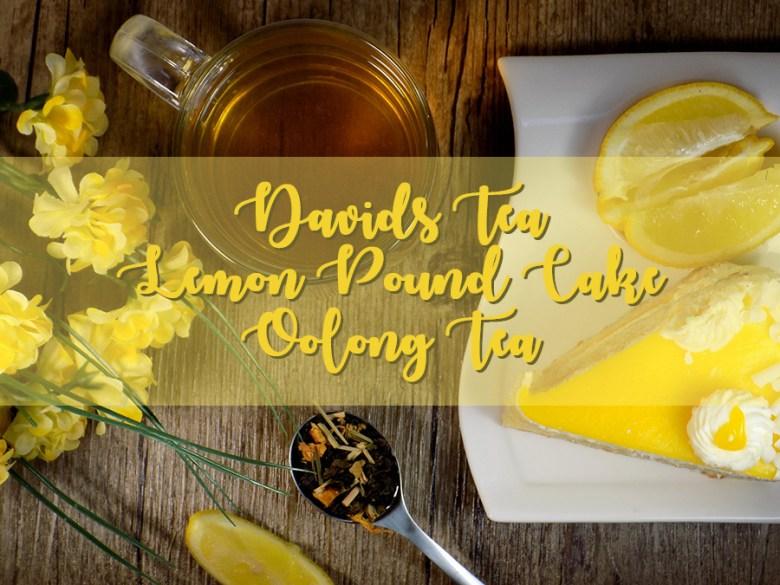DavidsTea Lemon Pound Cake Review Header