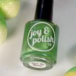 Joy and Polish Get In Lime - Bottle Shot 2