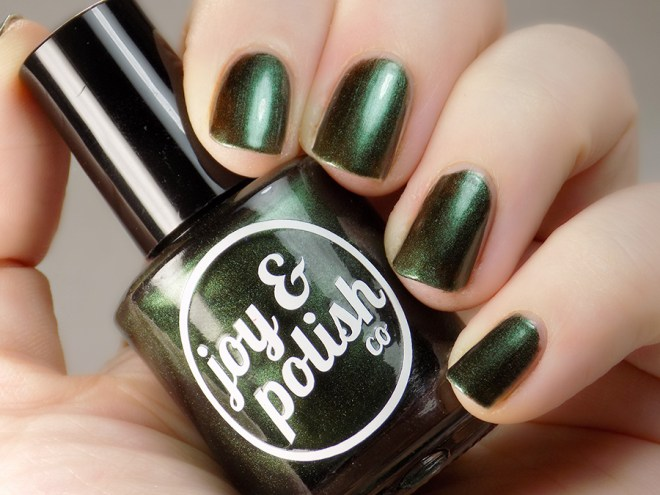 Joy and Polish Oh Kale Yeah - Swatch