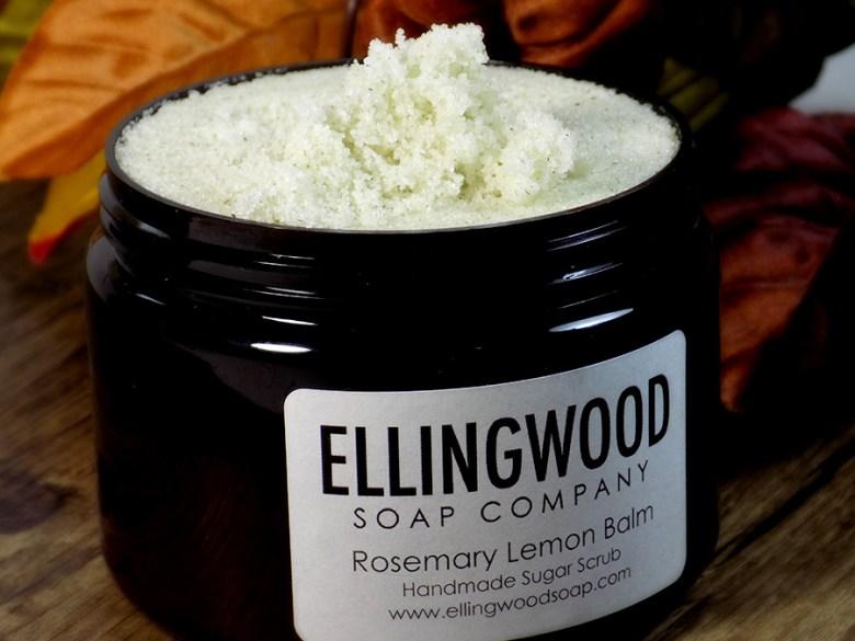 Ellingwood Soap Company Hamilton - Rosemary Lemon Balm Review