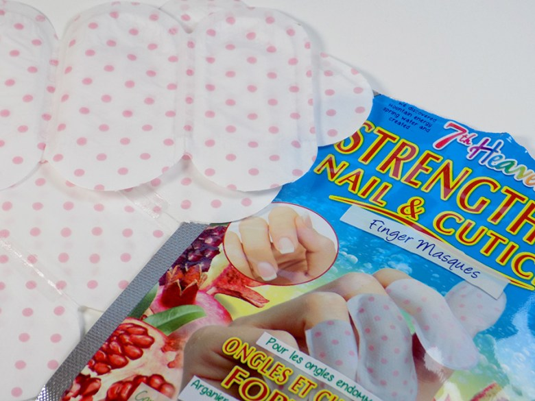7th Heaven Nail and Cuticle Finger Masques Review - Open Pack