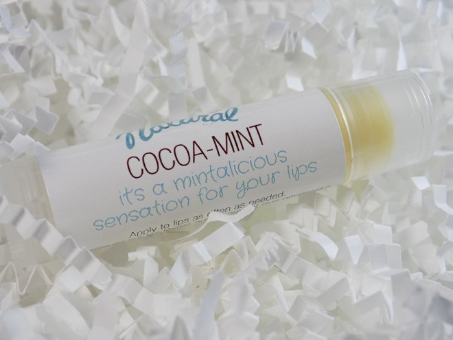 It's Only Natural Cocoa Mint Lip Balm