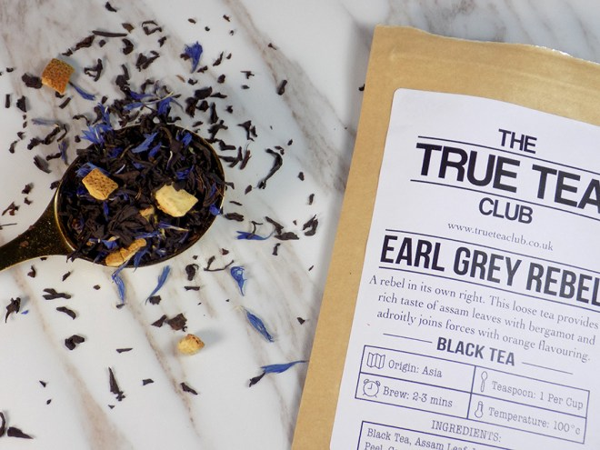 The True Tea Club Review Canada - Earl Grey Rebel Tea