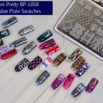 Born Pretty BP-L058 London Stamping Plate Swatches of all images - header