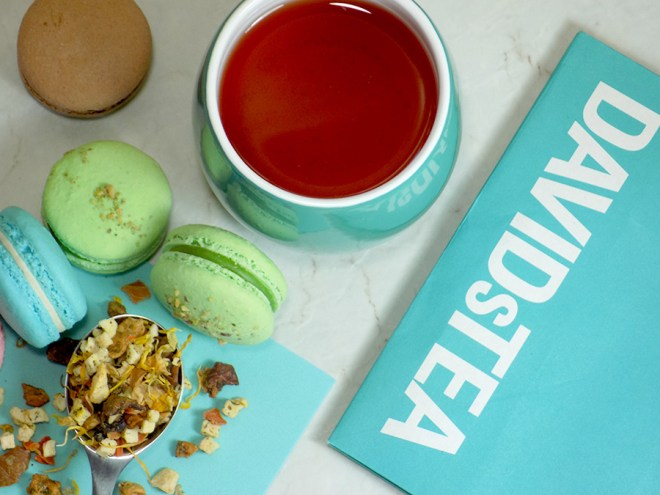 DavidsTea Cantaloupe Ice Tea (Macaron Collection) Review 2