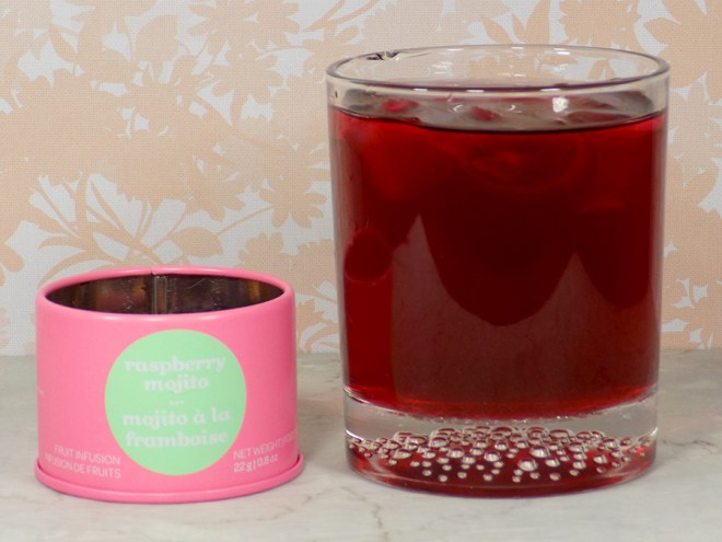 DavidsTea Raspberry Mojito Tea Review - 2017 Davids Tea Cocktail Collection Tea Review