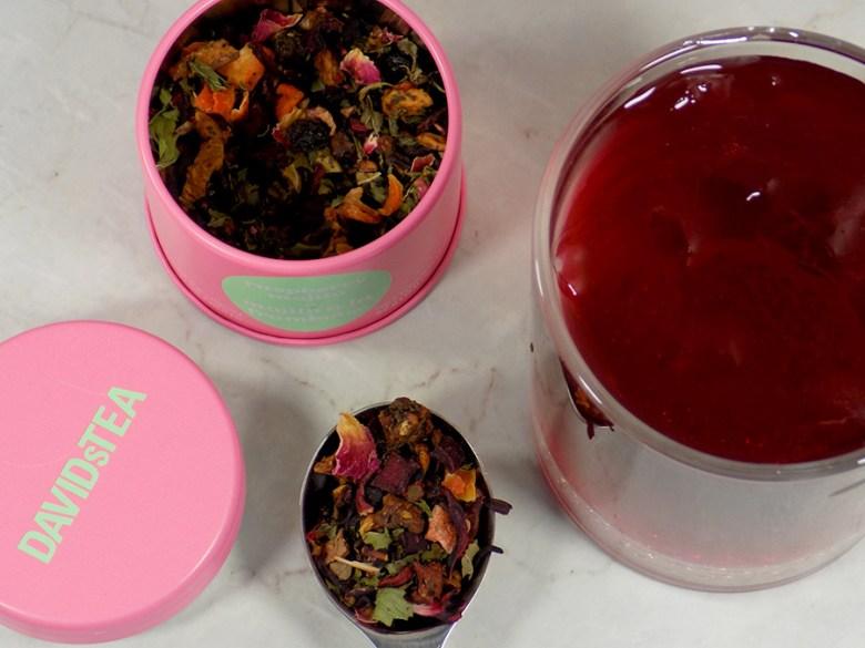 DavidsTea Raspberry Mojito Tea Review - 2017 Davids Tea Cocktail Collection Tea Reviews