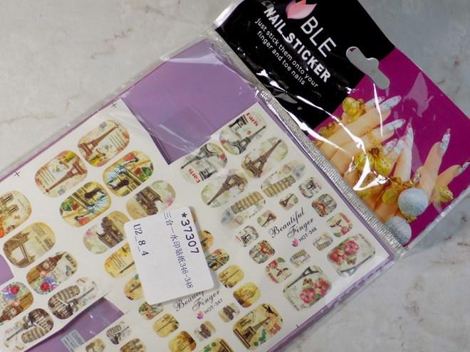Big Ben London Nail Decals Born Pretty BLE Nail Sticker - Non Transparent 37307 Packaging