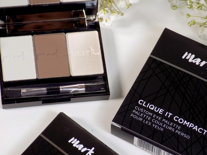 Mark by Avon Clique It Compact with single eyeshadows added