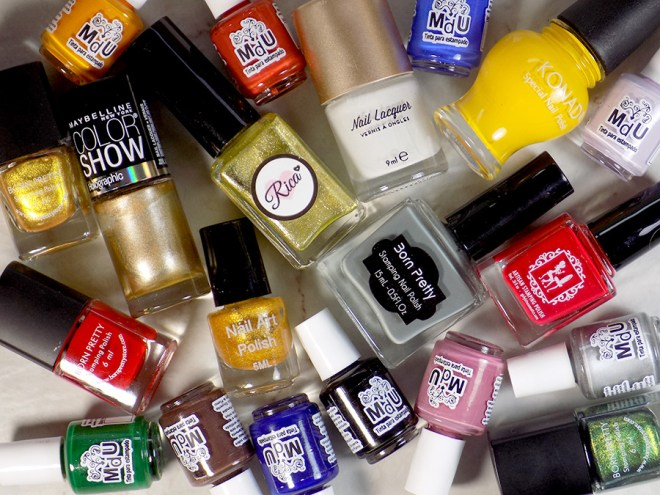 New to Stamping - What Stamping Polishes To Buy