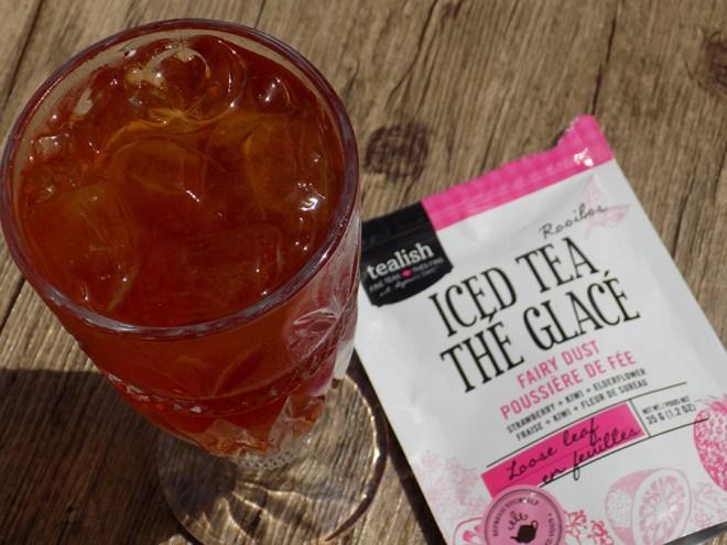 Tealish Fairy Dust Iced Tea Loose Tea - Brewed
