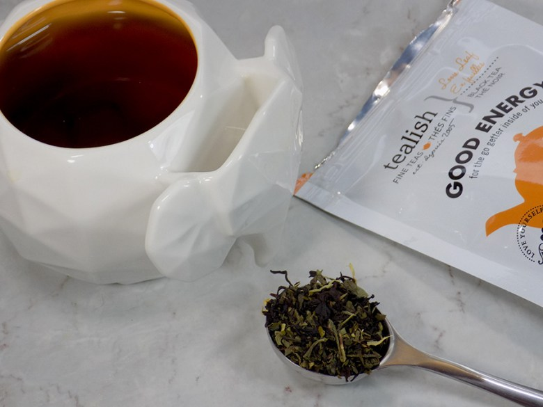 Tealish Good Energy Tea Reviews - Avon Elephant Mug