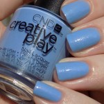 CND Creative Play Skymazing Swatches & Review