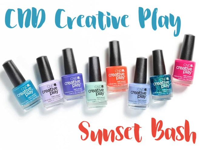 CND Creative Play Sunset Bash Collection